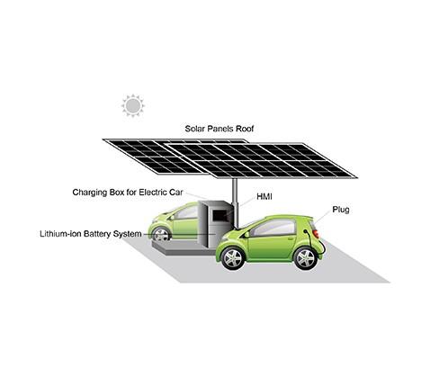 Solar Powered Anchor Port / Car Park