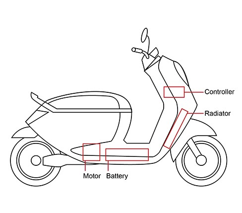 Electrical Powered Scooter